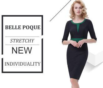 Buy 3/4 Sleeve Pencil Dress Formal Business Work Dress for $11.49 (Reg : $22.99)