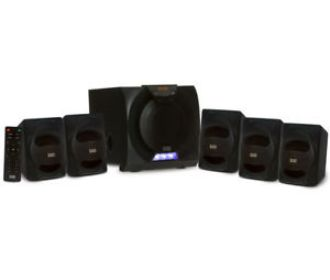 Buy Home Theater 5.1 Bluetooth Speaker System and LED Display for $63.88 (Was $74.88)
