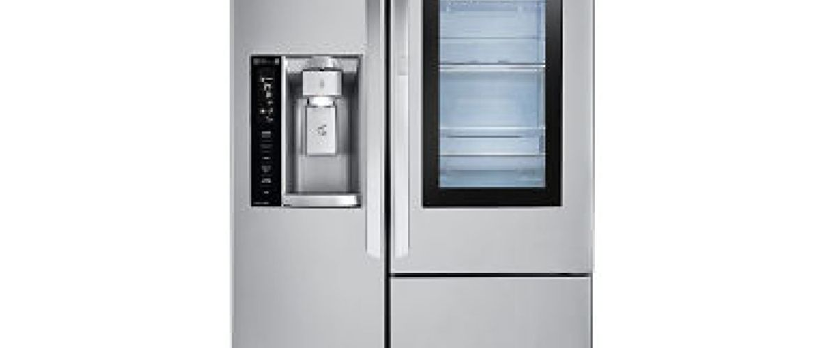 Buy LG 22 cu.ft. InstaView Door-in-Door Counter-Depth Refrigerator for $1,699