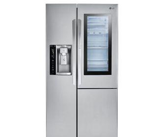 Buy LG 22 cu.ft. InstaView Door-in-Door Counter-Depth Refrigerator for $1,699