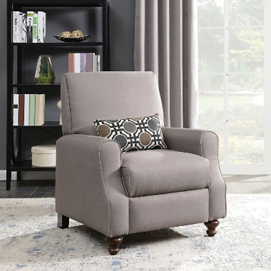 Shelby High Leg Recliner with Kidney Accent Pillow - Sam's Club