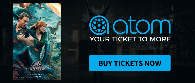 Buy 1, Get 1 Free Jurassic World: Fallen Kingdom Ticket B1G1