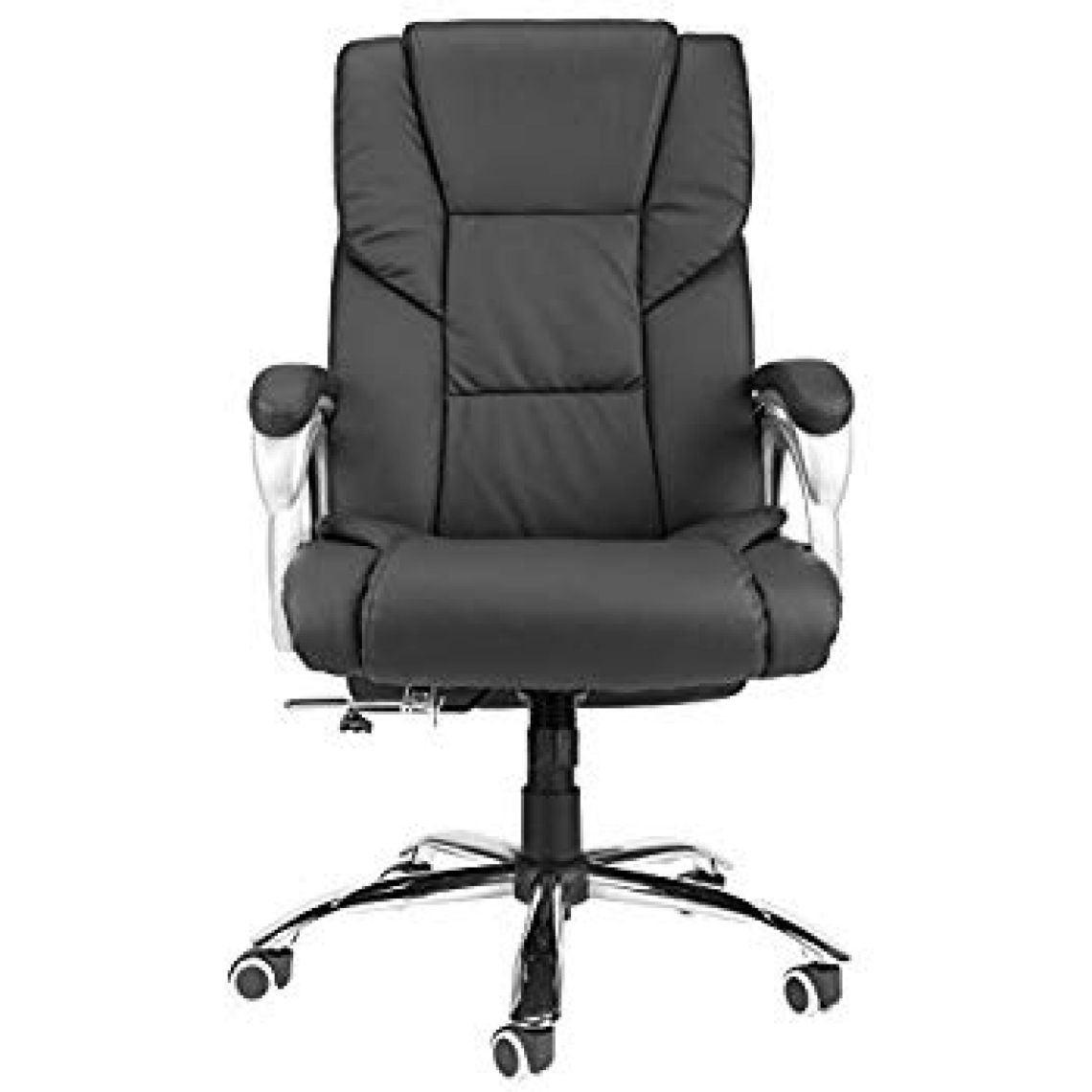 Amazon.com: Upgraded Wide Seat High Back PU Executive Reclining Swivel Comfortable Home Office Desk Chair: Kitchen & Dining