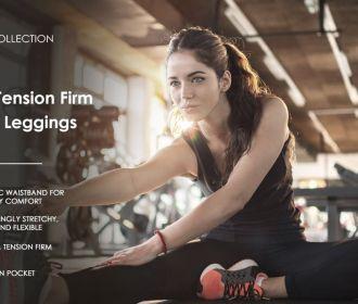 Buy Solid Brushed Signature Capri & Full Leggings – Soft/Strong Elastic Yoga High Waist w/Pocket Regular/Plus for $11.99 – $12.99