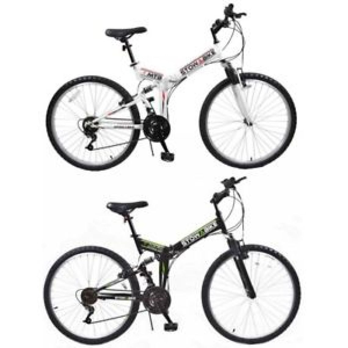 "Stowabike 26"" MTB V2 Folding Dual Suspension 18 Speed Shimano Gear Mountain Bike | eBay"