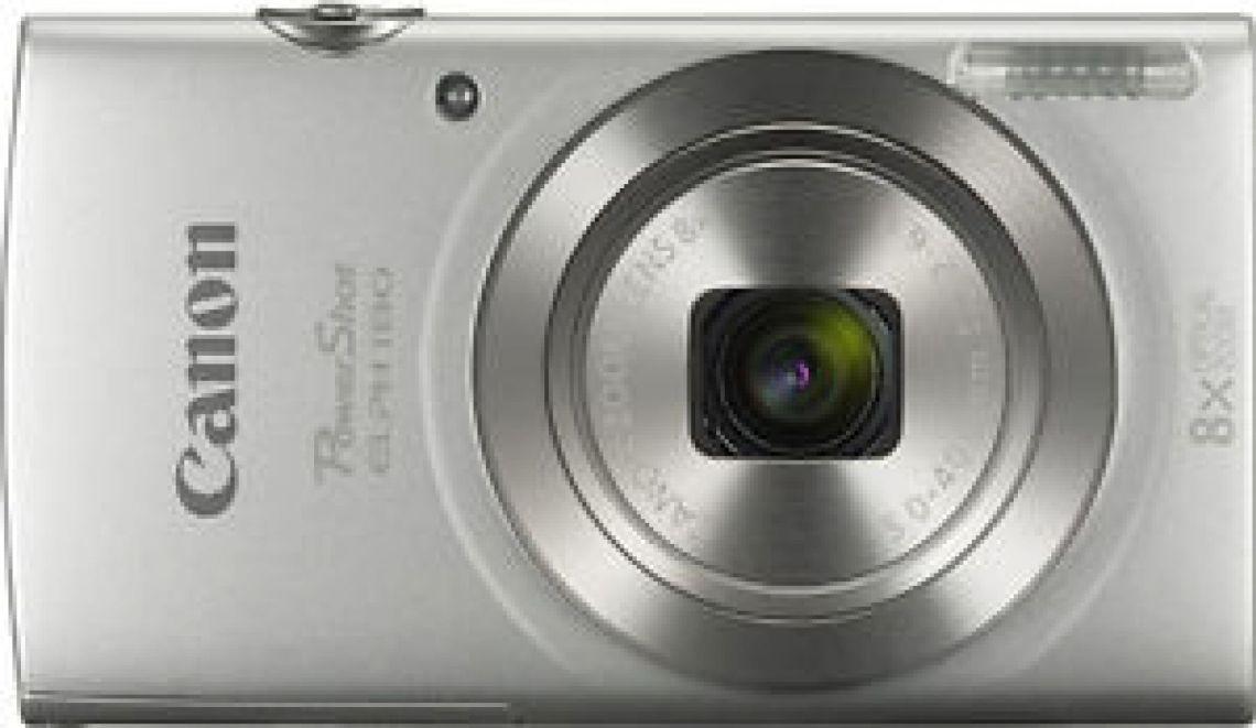 Canon - PowerShot ELPH 180 20.0-Megapixel Digital Camera - Silver 616639691795 | eBay