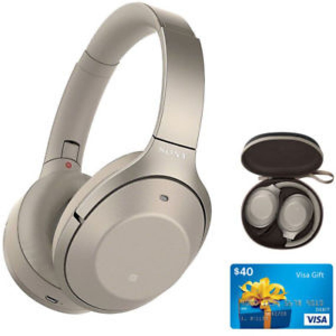 Sony WH1000XM2/N Noise Cancelling Wireless Headphones Bundle 27242907072 | eBay