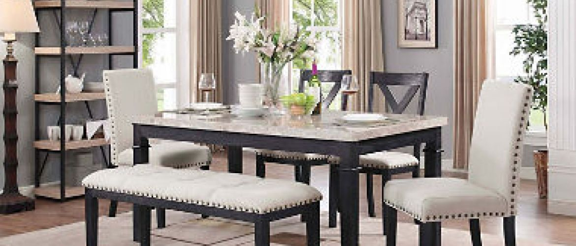 Buy Bradley 6-Piece Dining Set for $699 (Was $999.00)