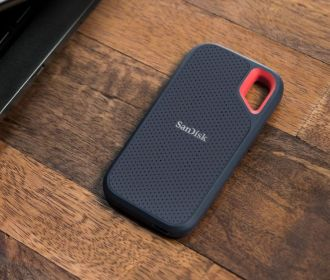 Buy SanDisk's 250GB Extreme Portable SSD water-resistant Hard Drive for $90