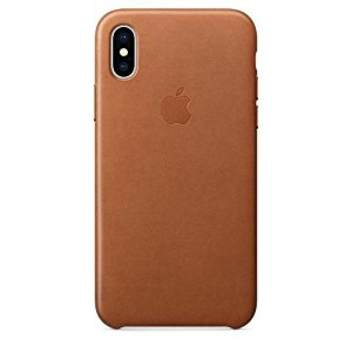 Amazon.com: Apple iPhone X Leather Case - Saddle Brown: Cell Phones & Accessories