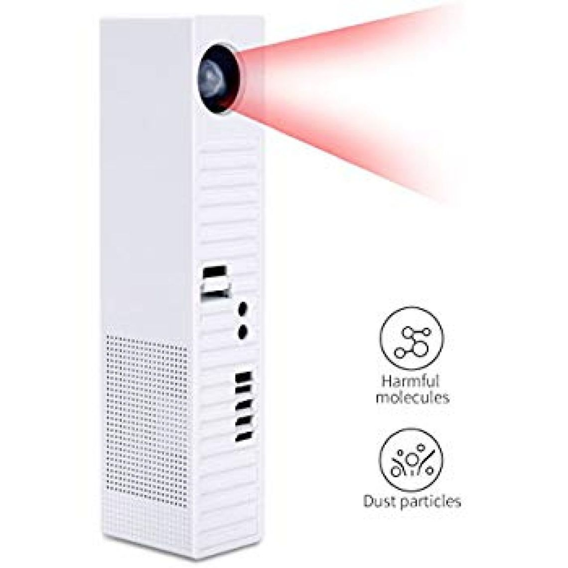 Amazon.com: XUANRUS HEPA Air Purifier - Air Ioniser,Air Cleaning, Air Cleaner,Portable Ionic Activated Carbon Filter Perfect for Allergy Sufferers, Smoking and Dust Mite Allergy on Pet House: Home & Kitchen