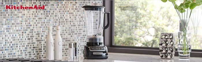 Amazon.com: KitchenAid KSB1575CB 5-Speed Diamond Blender with 60-Ounce BPA-Free Pitcher - Cranberry: Electric Countertop Blenders: Kitchen & Dining