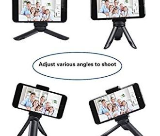 Buy Selfie Tabletop Tripod Stand for iPhone and Small Camera for $4.39 (Reg : $10.98)