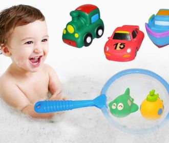Buy Baby Bath Toy Set for $2.60 (Reg : $12.99)