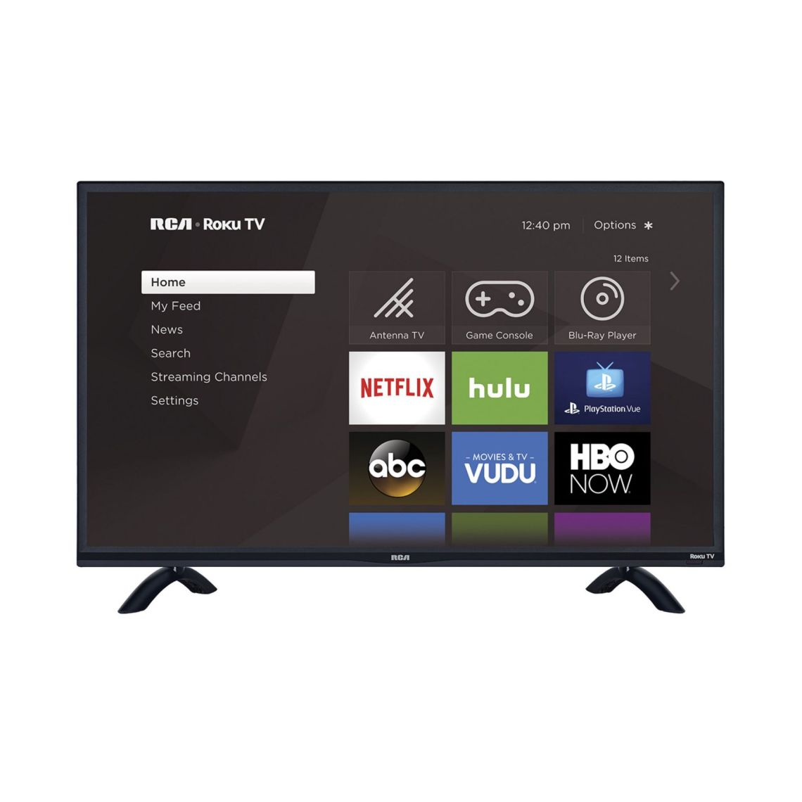 "RCA 55"" Class 4K (2160P) Roku Smart HDR LED TV (RTRU5527-W) - Walmart.com"