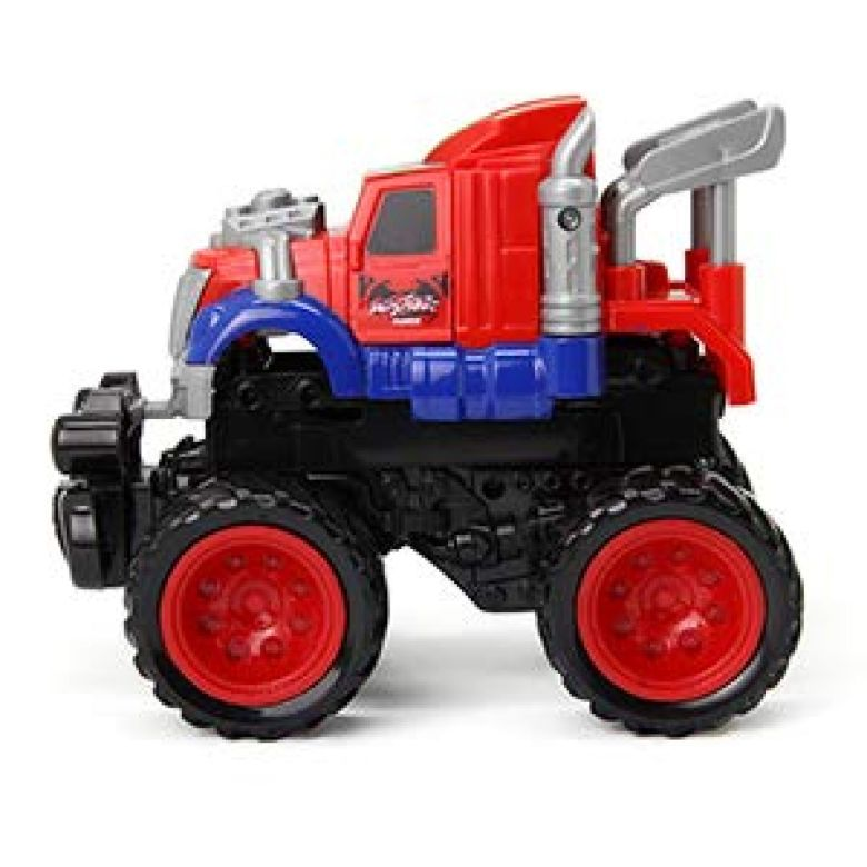 Amazon.com: KAKATIMES Bounce Stunt Car Toys for 3,4,5,6 year old Boys, Assorted Construction Vehicles And Mini Truck Toy Play Set for Kids and Toddler.: Toys & Games