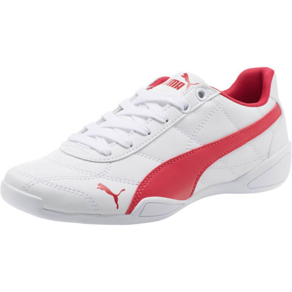 Tune Cat 3 JR Shoes | Puma White-Love Potion | PUMA Footwear | PUMA United States