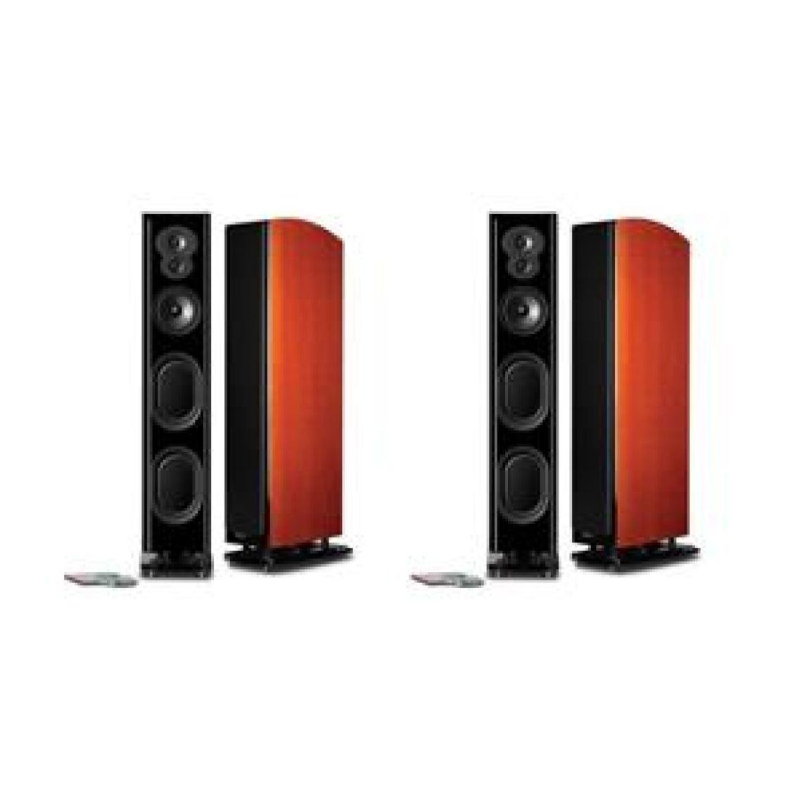 Polk Audio LSiM707 Floor Standing Speaker, Pair, Mt. Vernon Cherry