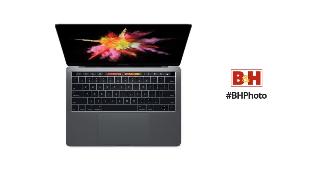 """Apple 13.3"""" MacBook Pro with Touch Bar MPXV2LL/A B&H Photo"""