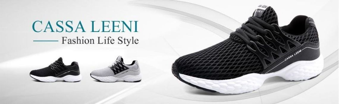 Amazon.com | Casssa Leeni Men's Running Shoes Casual Athletic Sneakers Mesh Sports Shoes Tennis Shoes Men Breathable Lightweight | Fashion Sneakers