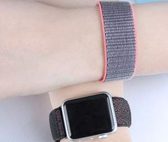 Buy Apple Watch Band 38mm 42mm Soft Nylon for $4.99 – $6.49