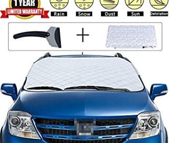 Buy Car Snow Cover Premium Windshield Universal Cover for $6.99