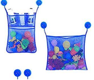 Buy Bath Toy Storage Organizer Baby Bathtub Toy Holder for $5.95 (Was $16.99)
