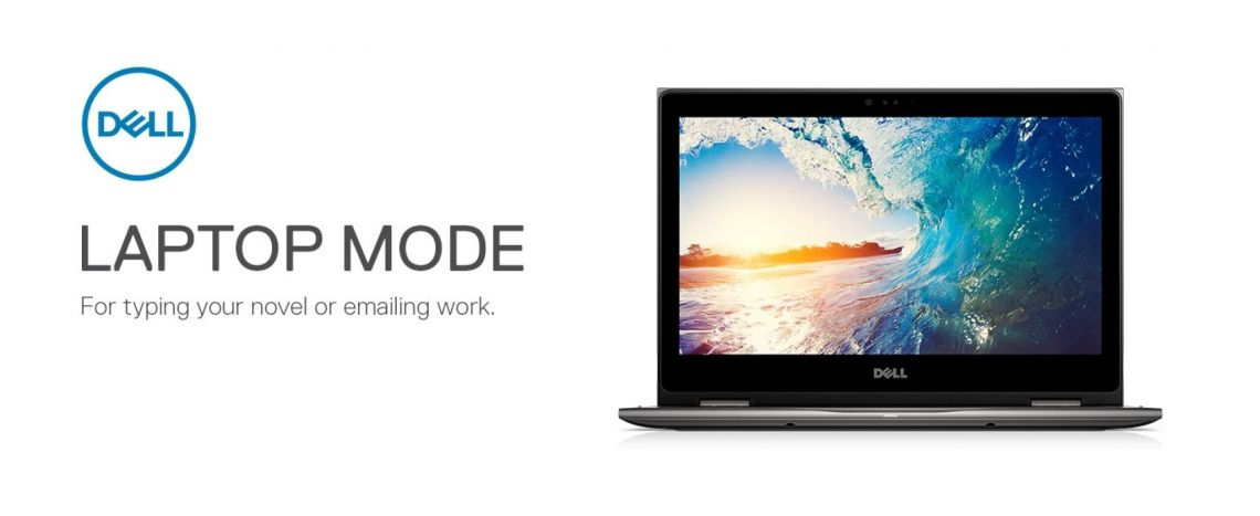 """Amazon.com: Dell Inspiron 13 5000 2-in-1-13.3"""" Touch Display - 8th Gen Intel Core i7-8550U - 8GB Memory - 1TB Hard Drive - Theoretical Gray (i5379-7909GRY-PUS): Computers & Accessories"""