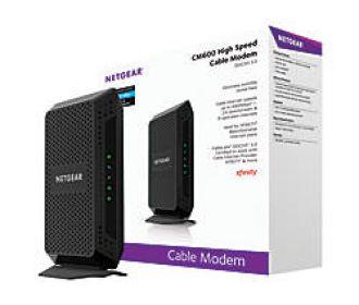 Buy Netgear CM600 960Mbps DOCSIS 3.0 Gigabit Cable Modem for $47.99 (Was $99.99)