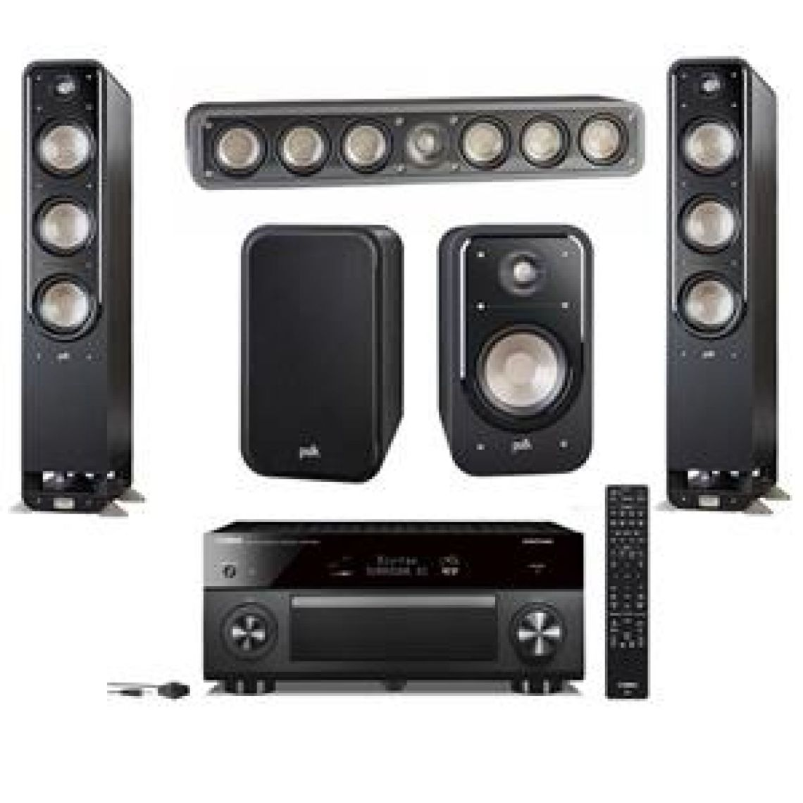Polk Audio Signature Series / Yamaha 9.2-channel Network AV Receiver Kit