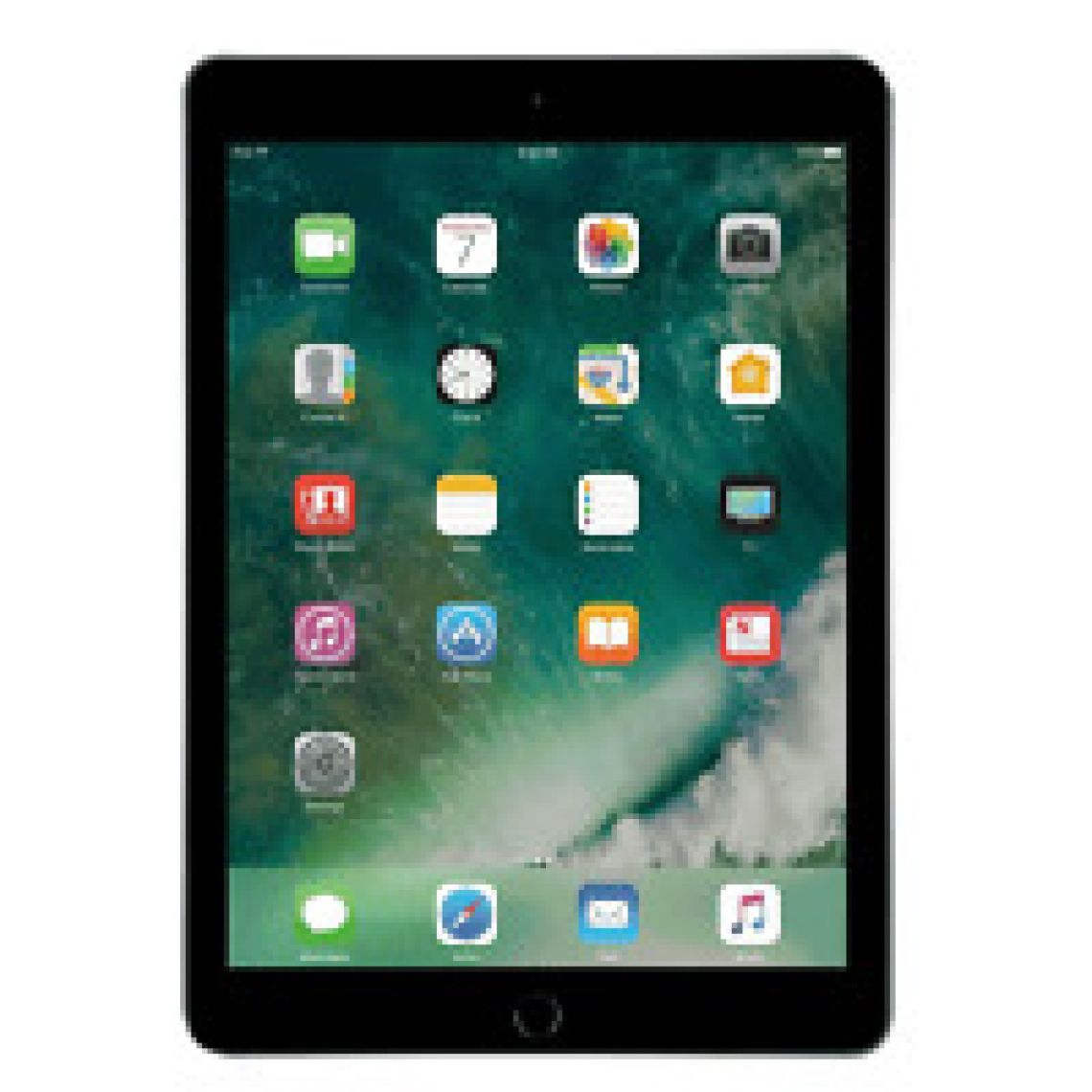 "Apple iPad 9.7"" 128GB Space Gray Wifi 5th Gen MP2H2LL/A 2017 Model 190198239594 