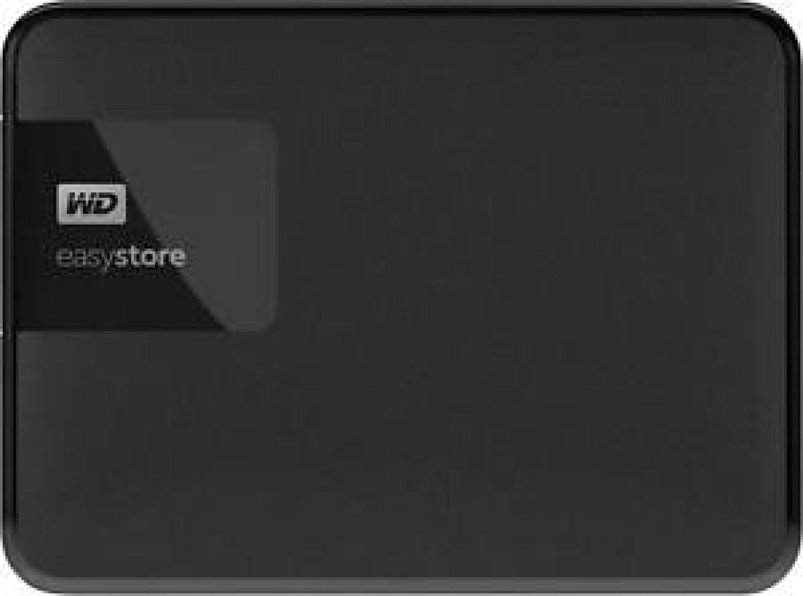 WD - easystore® 4TB External USB 3.0 Portable Hard Drive - Black 718037856100 | eBay