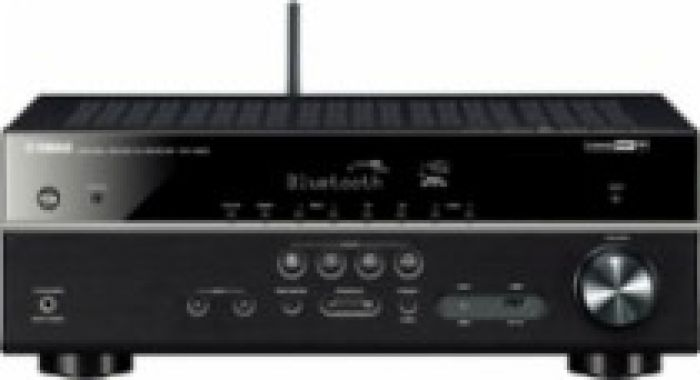 Yamaha 5.1-Ch. Network-Ready 4K Ultra HD and 3D Pass-Through A/V Home Theater Receiver Black RX-V483BL - Best Buy