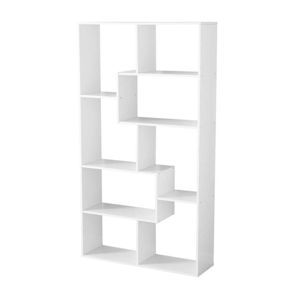 Mainstays 8-Cube Bookcase, White or Espresso - Walmart.com
