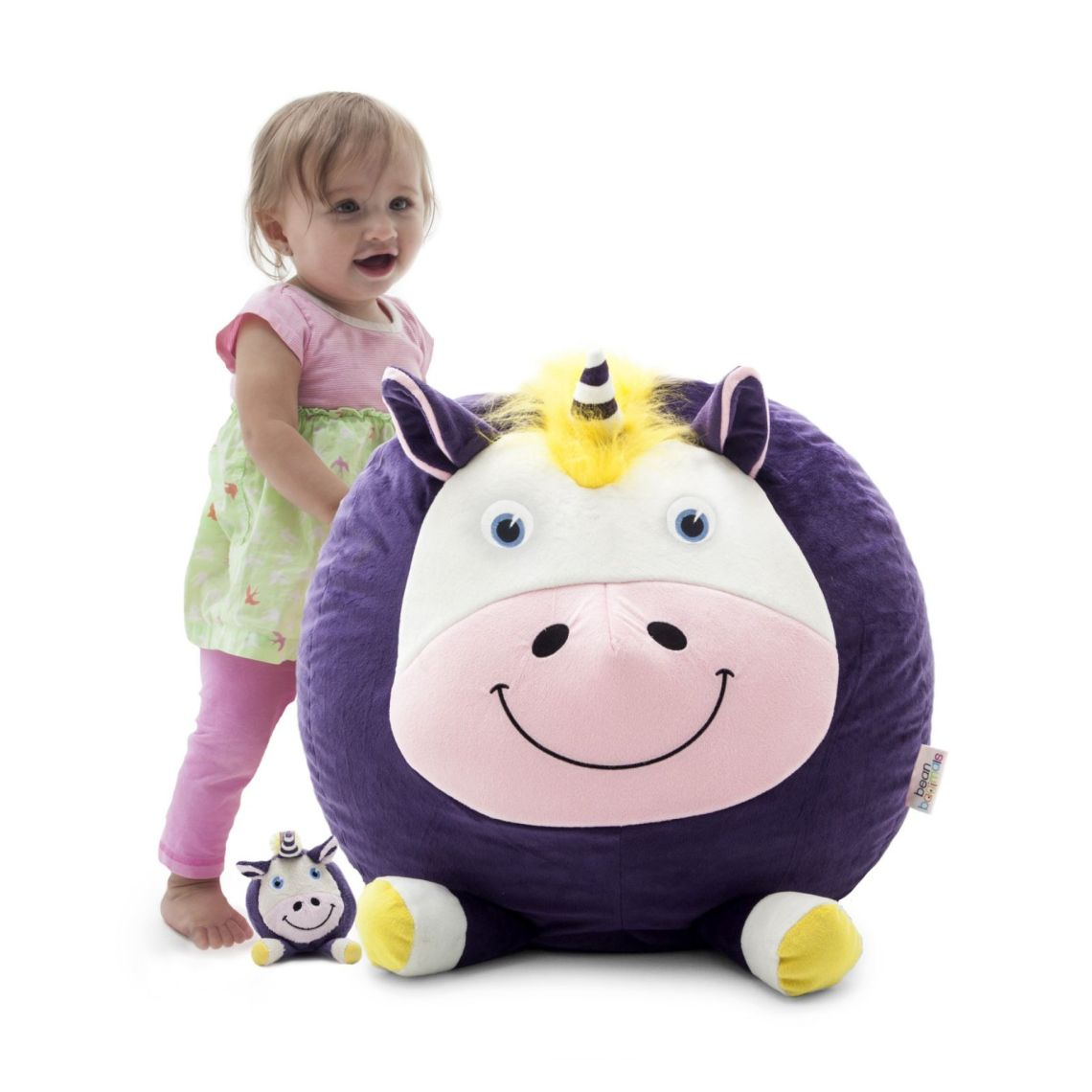 Big Joe Bagimal w/ Lil Buddy Bean Bag Chair, Multiple Characters - Walmart.com