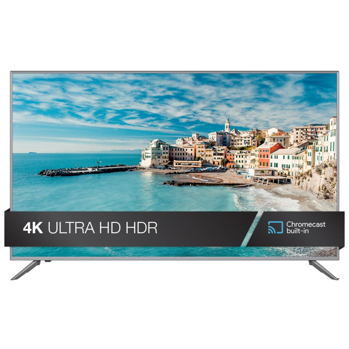 "JVC 55"" Class 4K Ultra HD (2160P) HDR Smart LED TV with Built-in Chromecast (LT-55MA875) - Walmart.com"