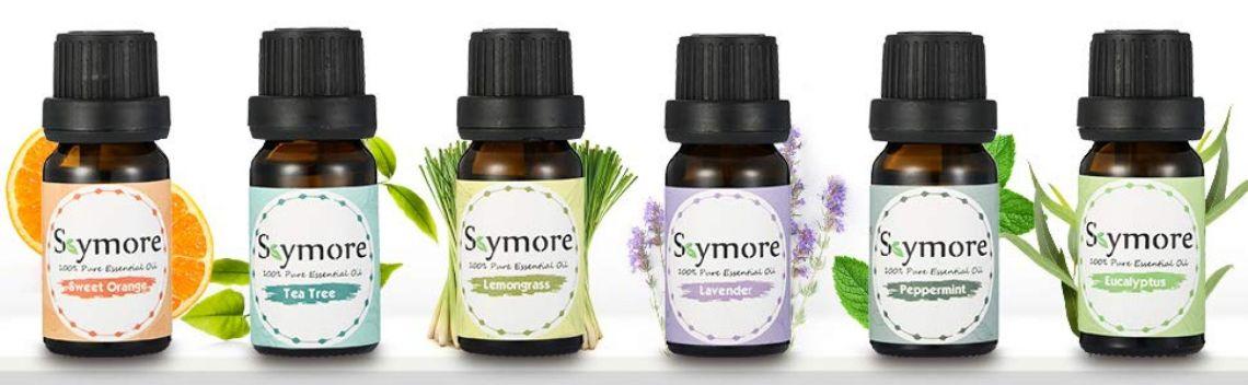 Amazon.com : Skymore Aromatherapy Top 6 Essential Oil Gift Set, 100% Pure Therapeutic GradeEssential Oil Kit, 6/10ML (Tea Tree, Lavender, Peppermint, Eucalyptus, Lemongrass, Orange) : Beauty