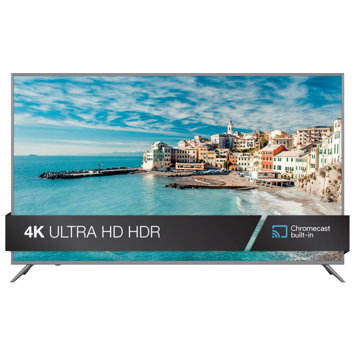 "JVC 65"" CLass 4K (2160p) HDR Smart TV with Built-in Chromecast (LT-65MA875) - Walmart.com"