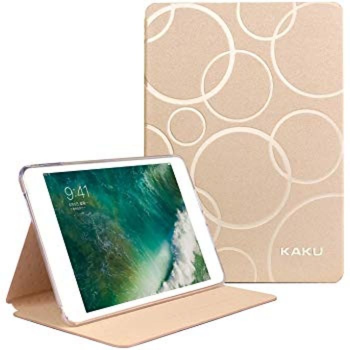 Amazon.com: Soft TPU Edge Case Compatible with iPad 2018 6th/2017 5th Gen Pro 9.7/Air2/Air,Corners Never Crack Split,Flexible Rubber Lining Slim Smart Folio Stand with Auto Sleep/Wake Function,KAKU Bubble Series: Computers & Accessories