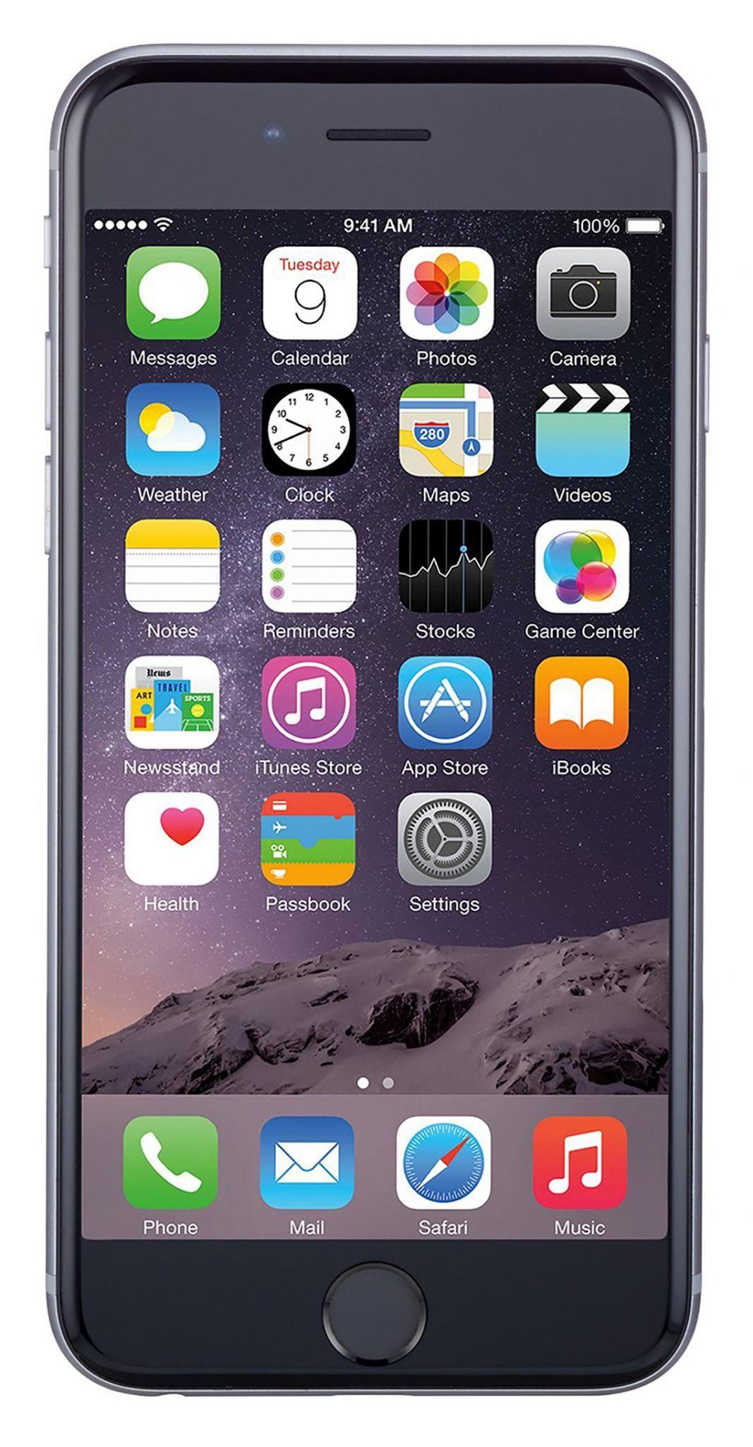Apple iPhone 6 64GB Unlocked GSM Phone w/ 8MP Camera - Space Gray(Refurbished) - Walmart.com