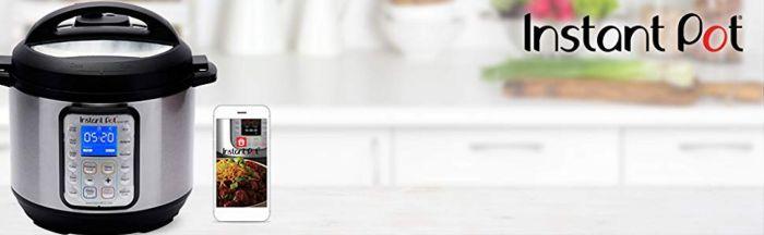 Amazon.com: Instant Pot Smart WiFi 6 Quart Electric Pressure Cooker, Silver: Kitchen & Dining