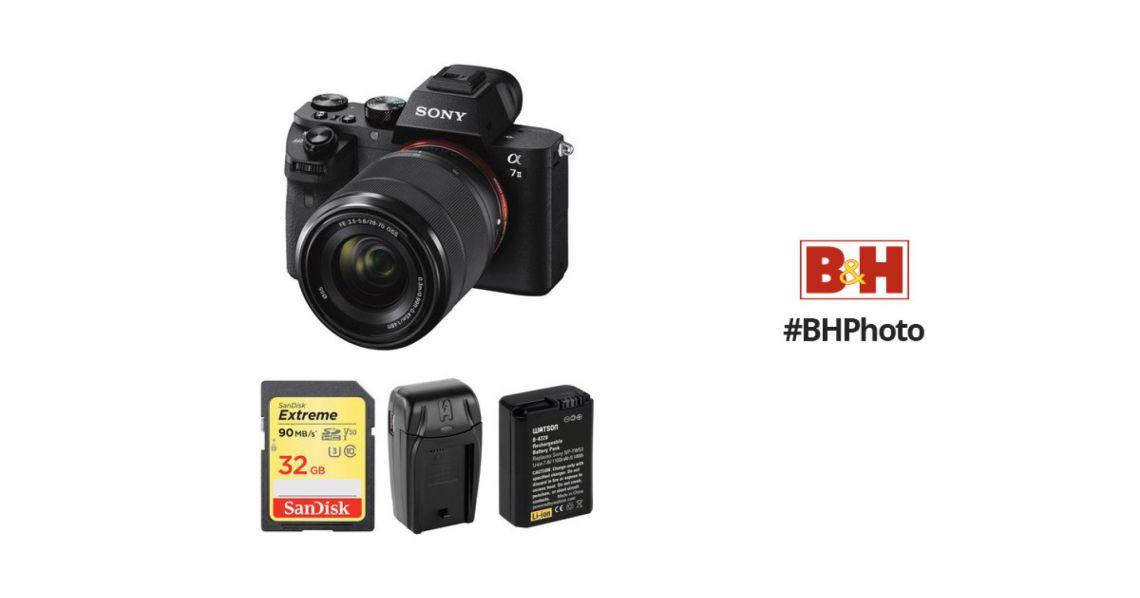 Sony Alpha a7 II Mirrorless Digital Camera with 28-70mm Lens B&H