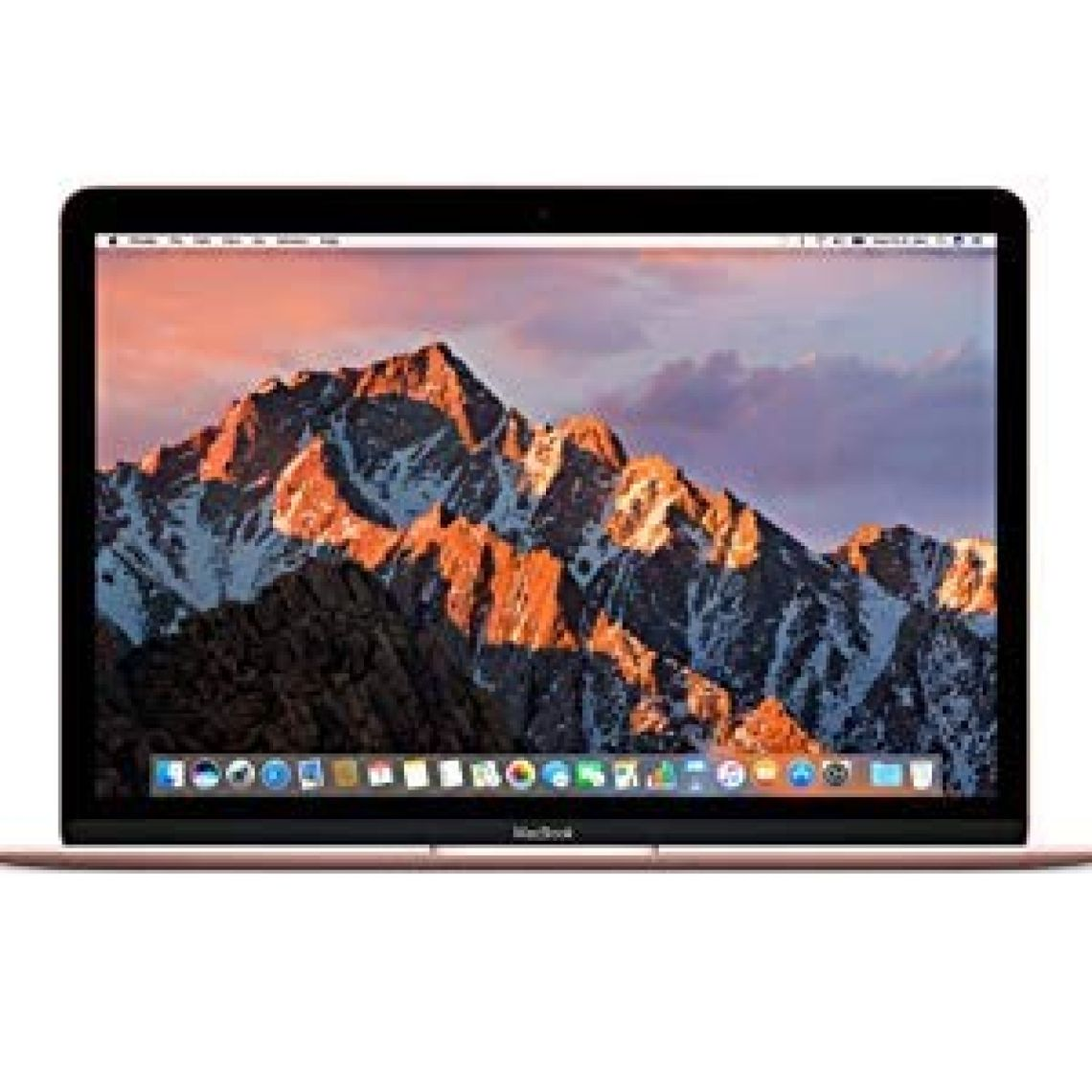 "Amazon.com: Apple MacBook (Mid 2017) 12"" Laptop, 226ppi, Intel Core M3-7Y32 Dual-Core, 256GB, 8GB DDR3, 802.11ac, Bluetooth, macOS 10.12.5 High Sierra - Rose Gold (Refurbished): Computers & Accessories"