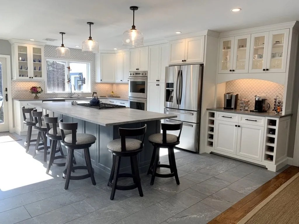 the best kitchen floor tile vs hardwood