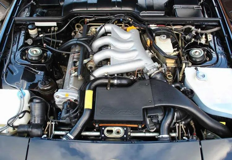 Porsche 944 Turbo Engine Bay