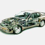 1988 944 Turbo S & 1989 Porsche 944 Turbo Cutaway