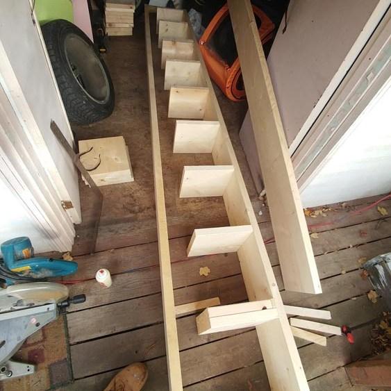 wood platform ramps for car