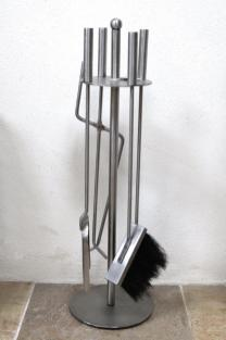 Now £40.00 was £47.00 Silver with round base companion set