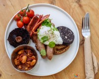 Breakfast at The Orchard Kitchen Cafe - Dean Forge