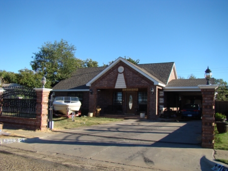 One of the Lubbock homes in which Buddy Holly was raised. The family moved often.